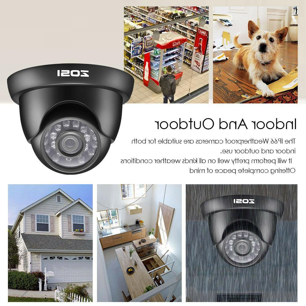 ZOSI HD 1080N HDMI Outdoor Home Camera System
