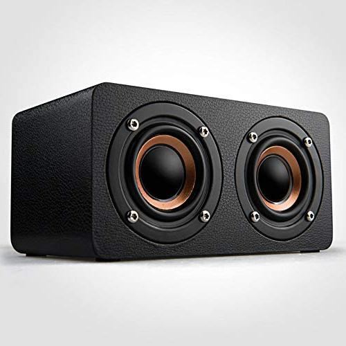 heavy bass dual speaker audio