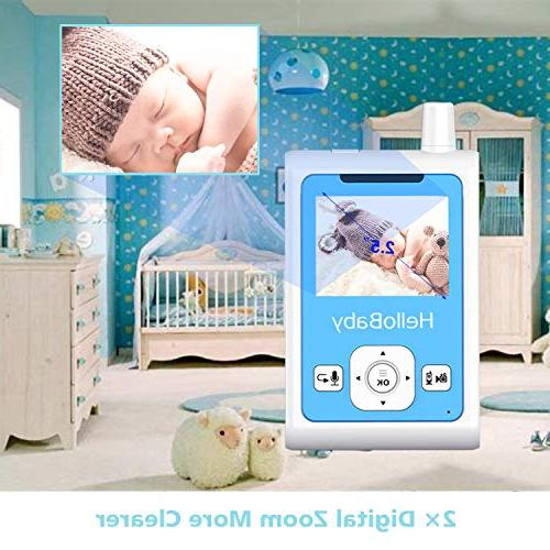 HelloBaby Monitor Detection & Alarm, Night Two-Way Talk Temperature and Long