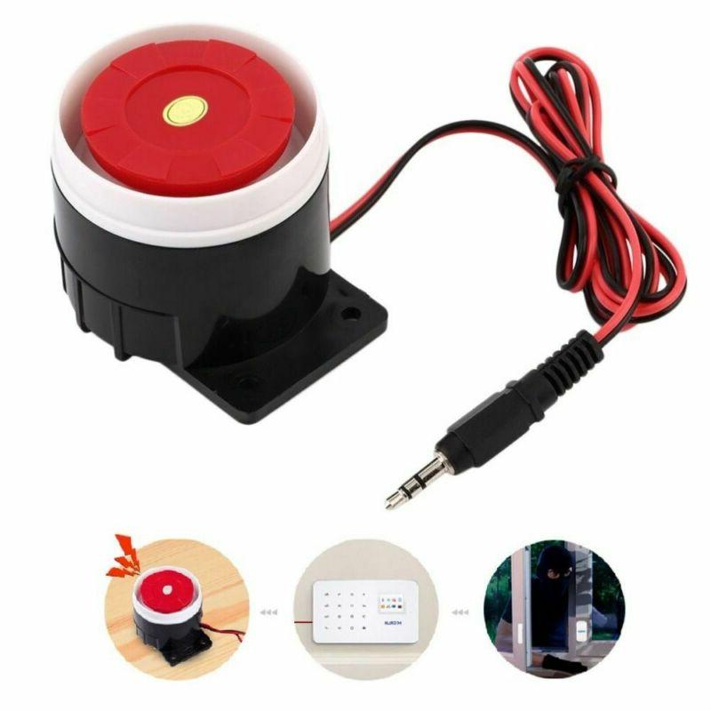 Home Alarm System 120dB Loud Wired Mini Indoor Horn Siren So