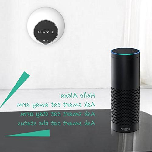 Golden Security Home System WIFI with Alexa Compatible other Security Accessories S1-Plus