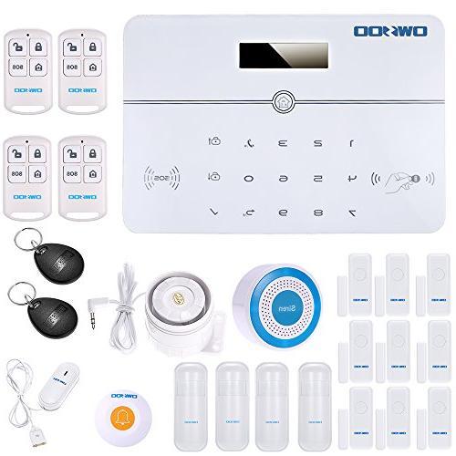 home burglar security alarm system