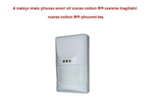 Wireles Home Security Alarm System Pet-immunity Intelligent