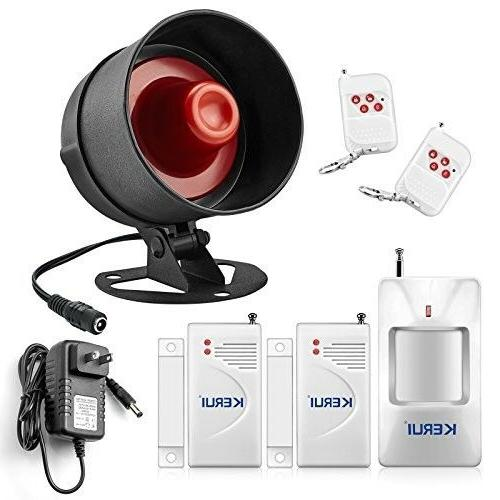 Alarm System Home Security Indoor Outdoor Weather Proof Sire