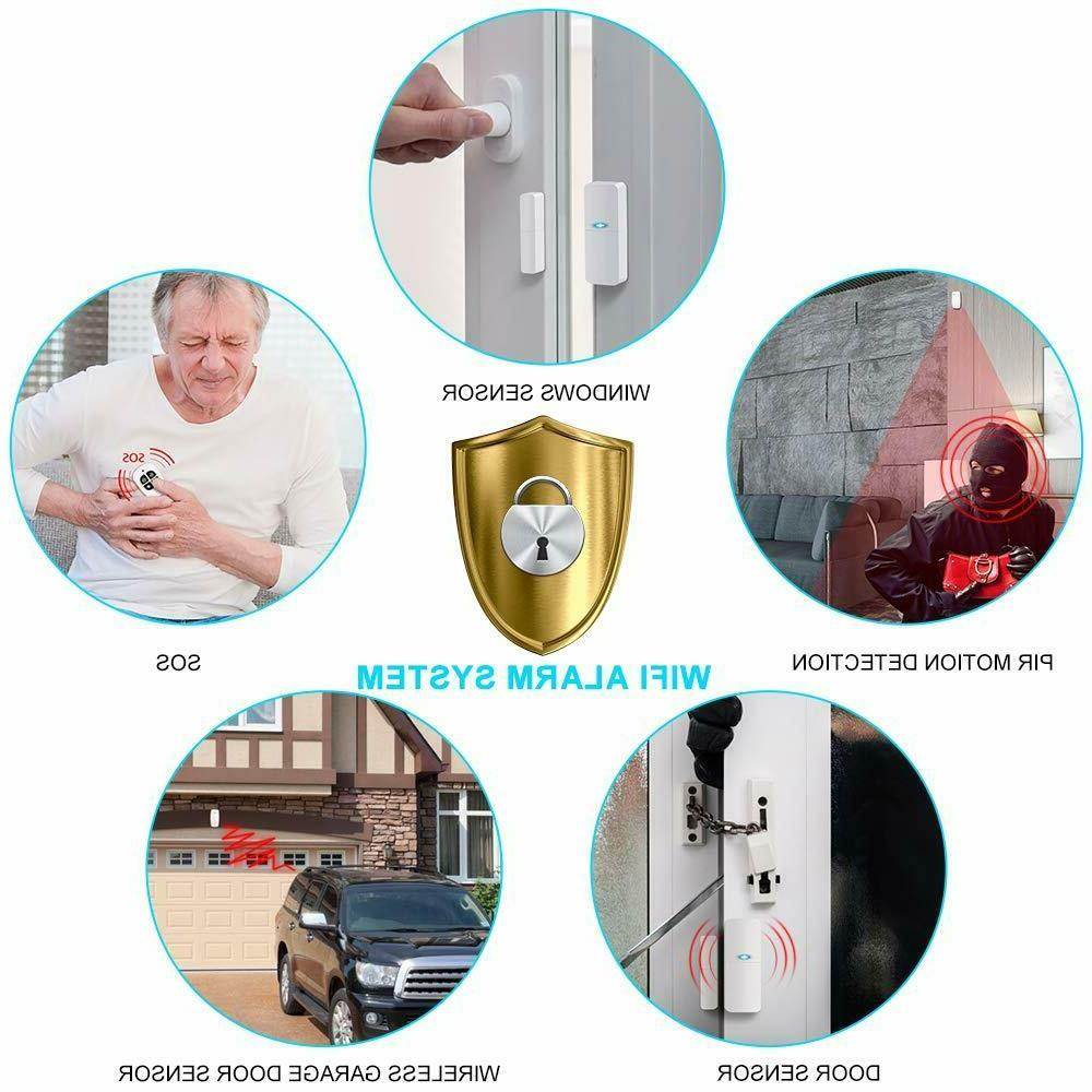 Home Security Alarm Home and Alarm