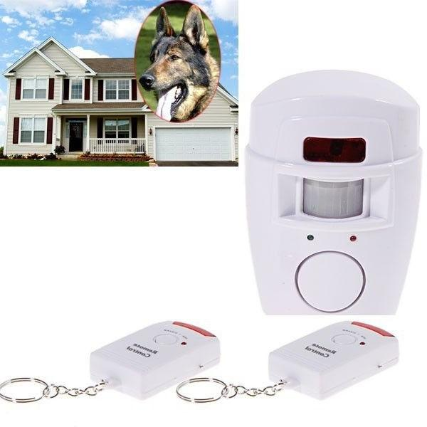 home security wireless alarm system ir motion