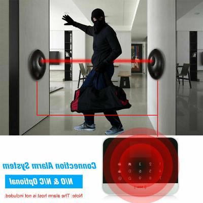 2 Single Beam Alarm Photoelectric Infrared Detector Home Doo