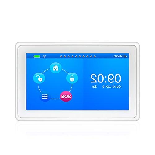 KERUI GSM Security Home Alarm System Full Touch Color Display Auto Free APP Control