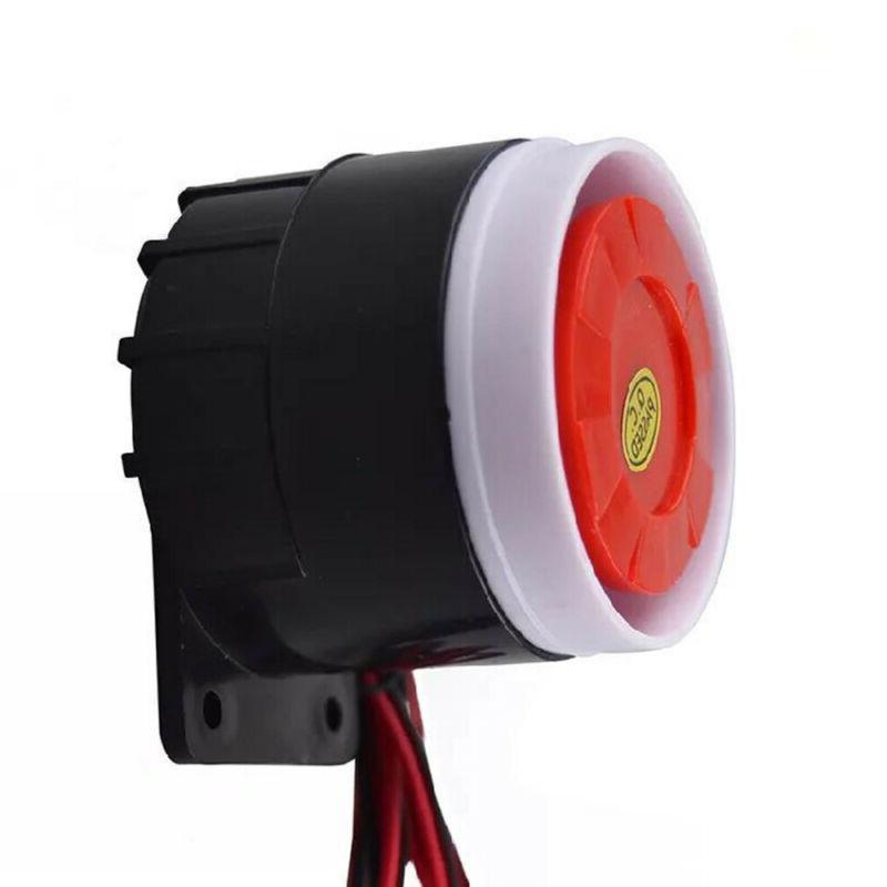 DC 120db Warning Horn Security Alarm System