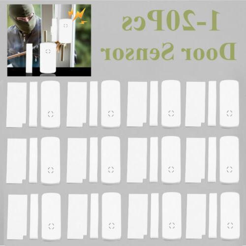 lot 1 20 wireless window door burglar