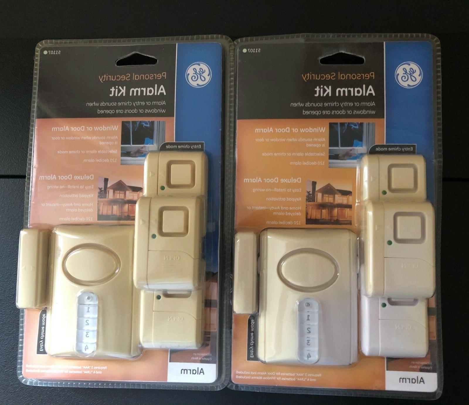 lot of 2 51107 wireless alarm system