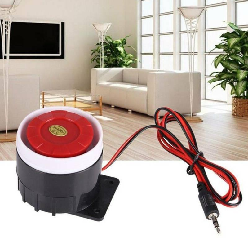 mini indoor 120db dc 12v loud wired