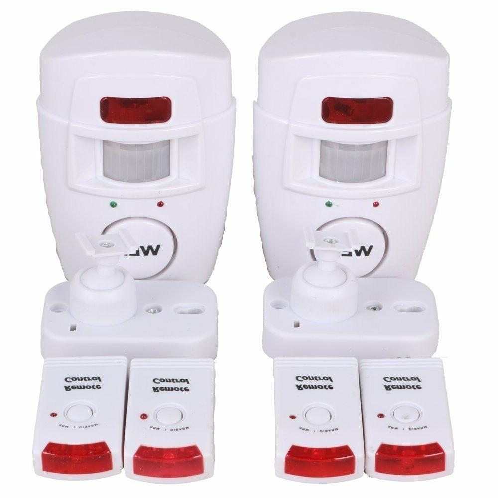 Motion Sensor Detector Wireless IR Infrared Remote Security