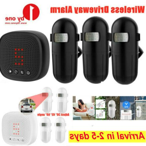 Motion Sensor Waterproof Long Alert