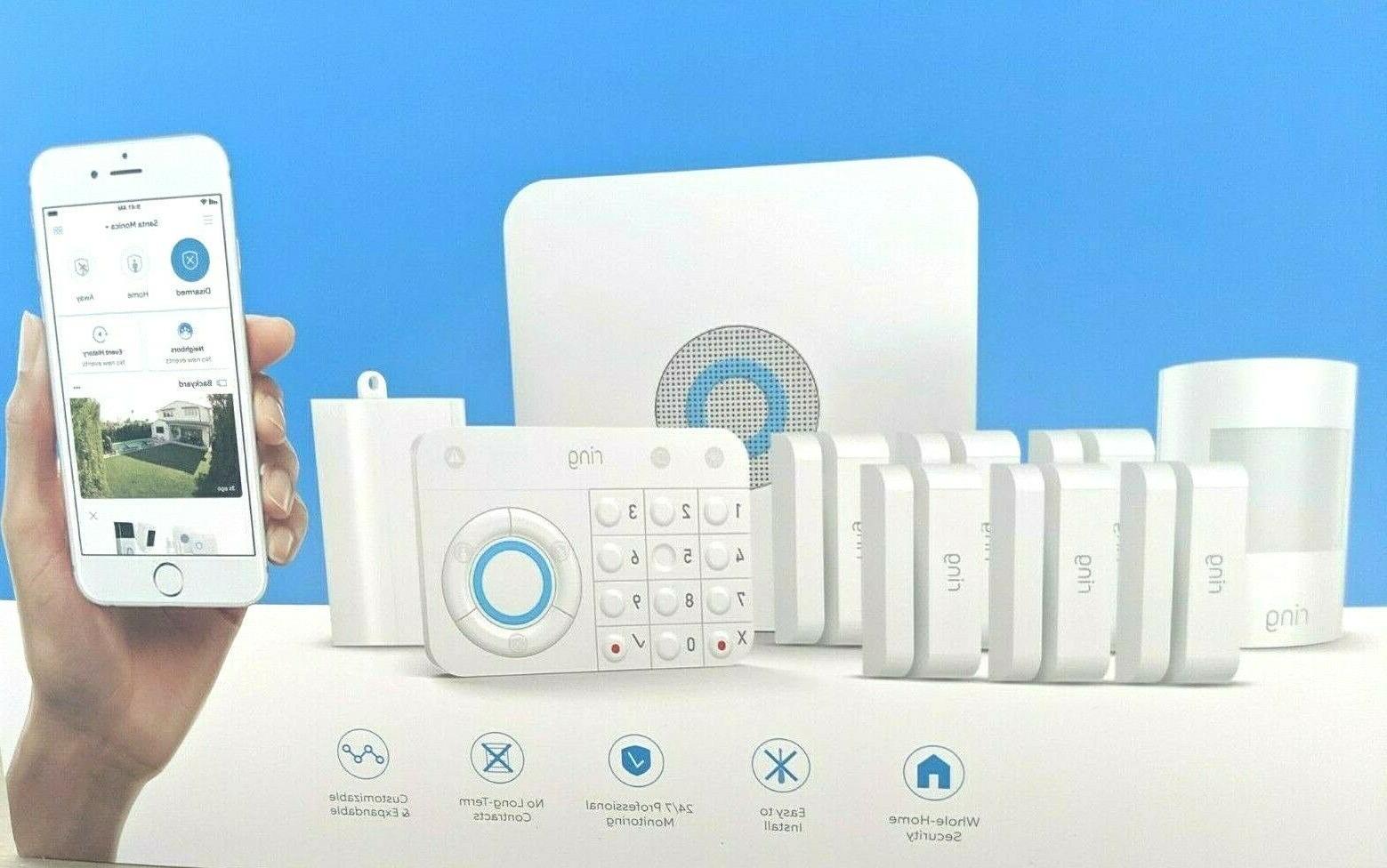 NEW Alarm Wireless Security Home System - Piece Kit Smart