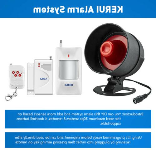 KERUI Infrared Button Alarm System