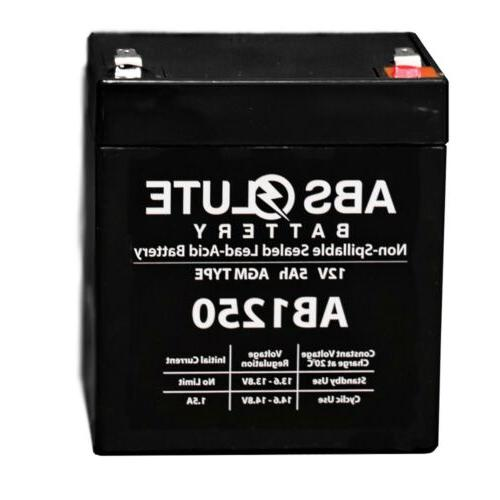 This is an AJC Brand Replacement DSC PC2500 12V 4.5Ah Alarm Battery