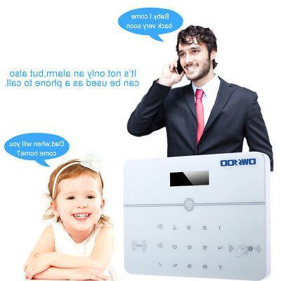 NEW OWSOO 433MHz Auto-dial Voice Security Alarm