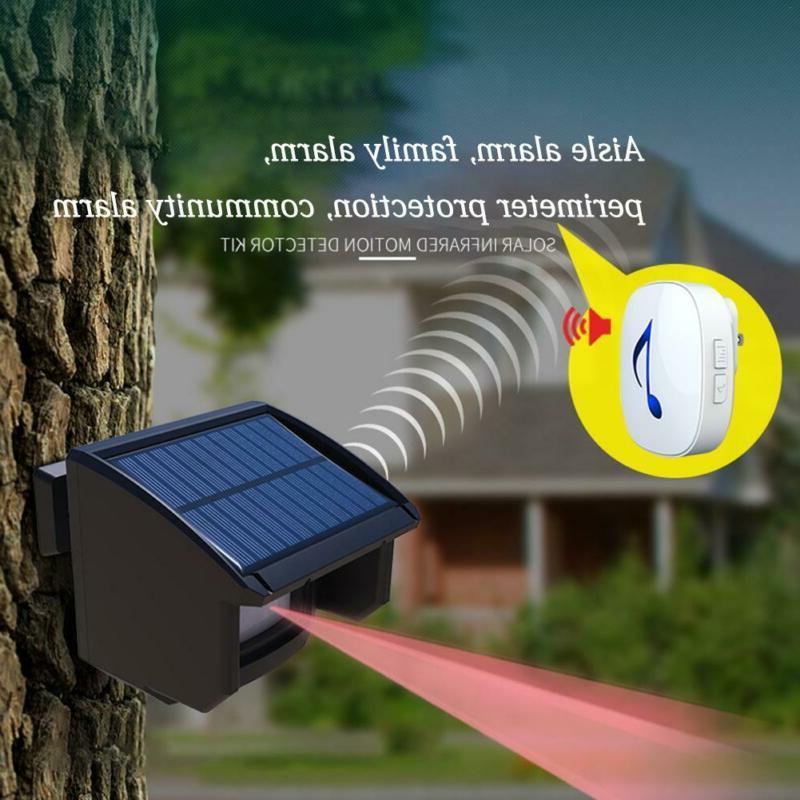 Outdoor Motion Sensor Security System