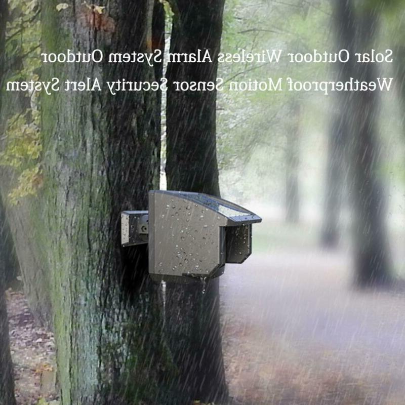 Outdoor Wireless Motion Sensor System