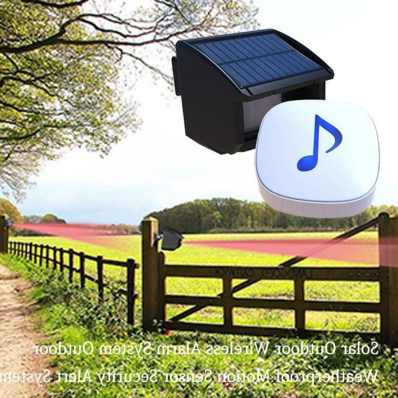 Outdoor Wireless Alarm Motion Sensor Security System