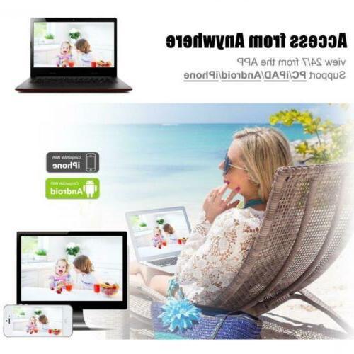 Outdoor Security Surveillance HD Home 2TB