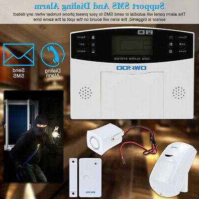 OWSOO Door Remote Control Security System GSM V0Z0