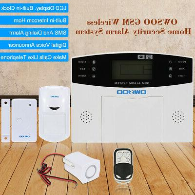 OWSOO Remote Control Security System SMS V0Z0