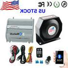 PA Siren Horn Bluetooth Loud Speaker System Kit 200W Car War