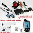 2-WAY PAGER CAR/AUTO SECURITY ALARM SYSTEM KEYLESS ENTRY + L