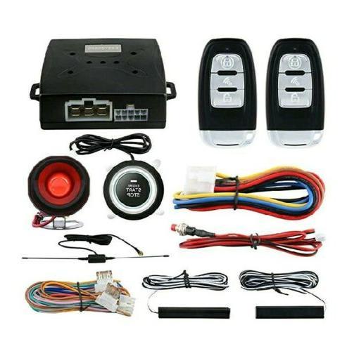 Easyguard Pke Car Alarm System Keyless Entry Remote