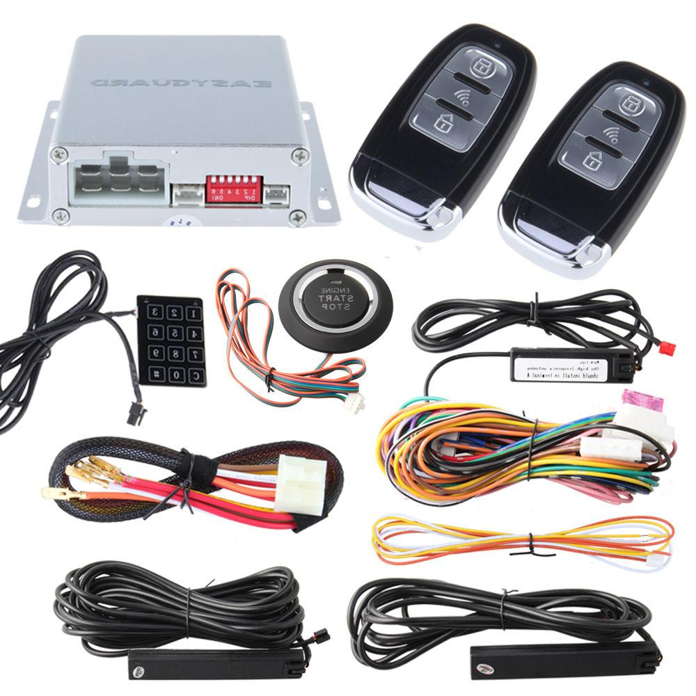 EASYGUARD PKE car alarm system passive with remote engine
