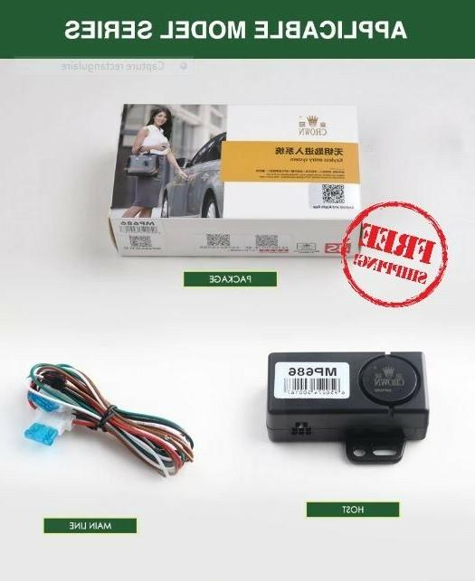 pke smart key car alarm system remote