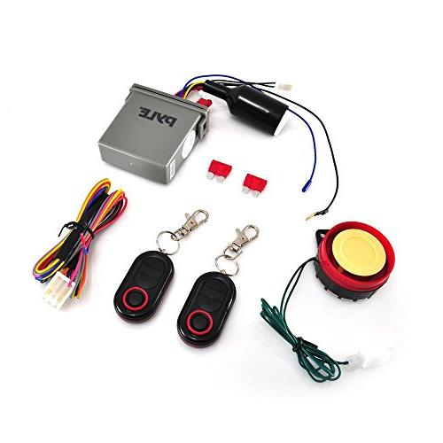 Pyle Watch Bike Theft Security System Lock with Auto High PLMCWD25