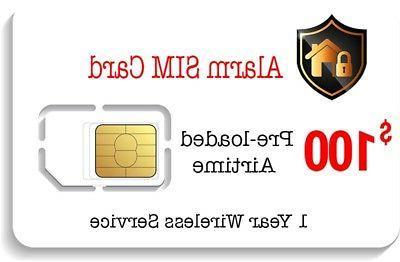 prepaid alarm sim card
