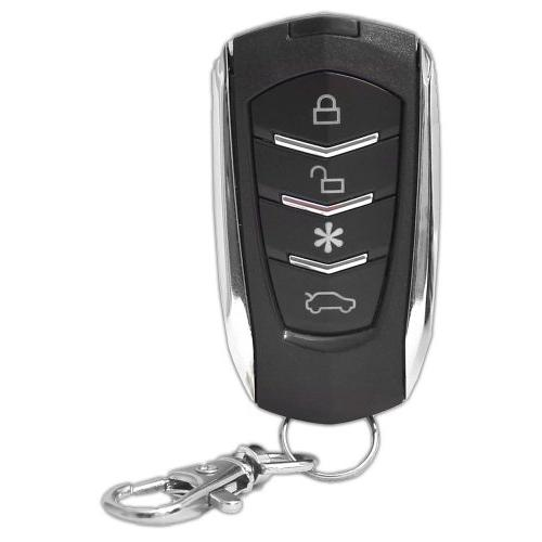 Pyle Car Security System - 2 w/ Door Vehicle Ignition Locks Status Indicator LED w/ Sensor Bypass Valet Override