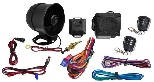 System - 2 w/ 4 Button Door Lock Ignition Locks Status w/ Sensor Bypass Override Switch & 2 Auxiliary -