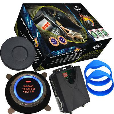 rfid car engine start stop button working with aftermarket c