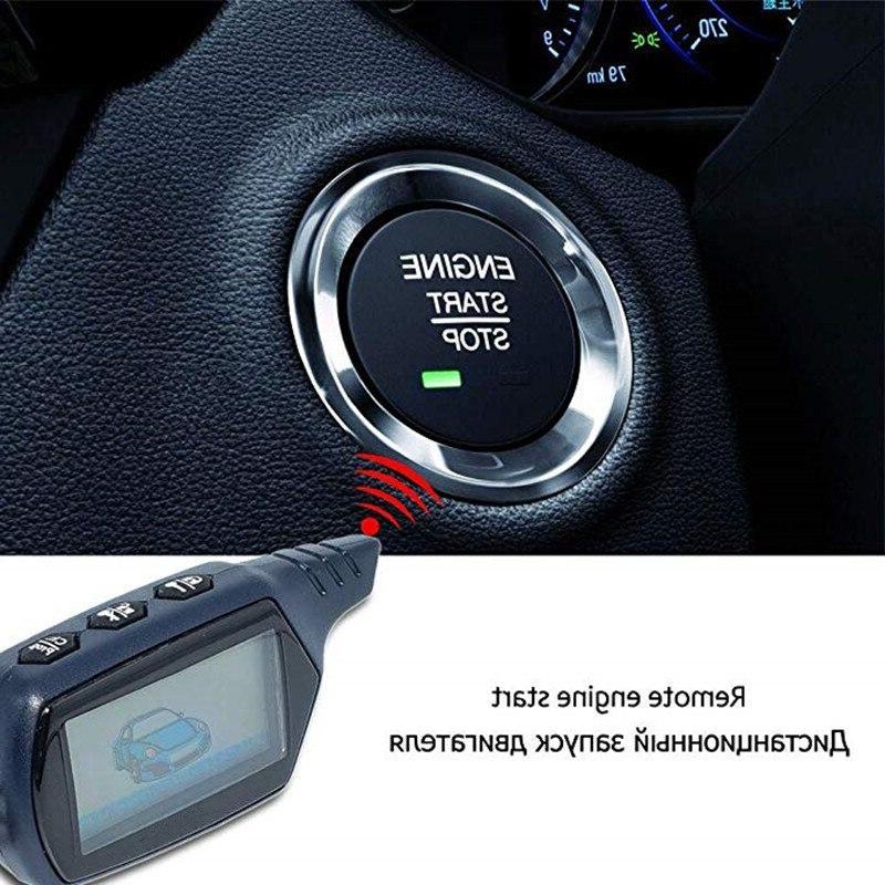 DOXINGYE Way <font><b>Alarm</b></font> B9 <font><b>Alarm</b></font> <font><b>with</b></font> Engine Control Key Auto Anti-Theft