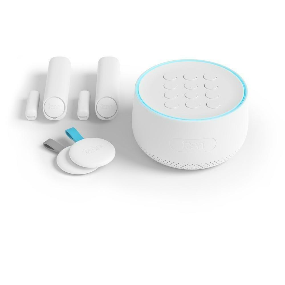 secure alarm system starter pack white h1500us