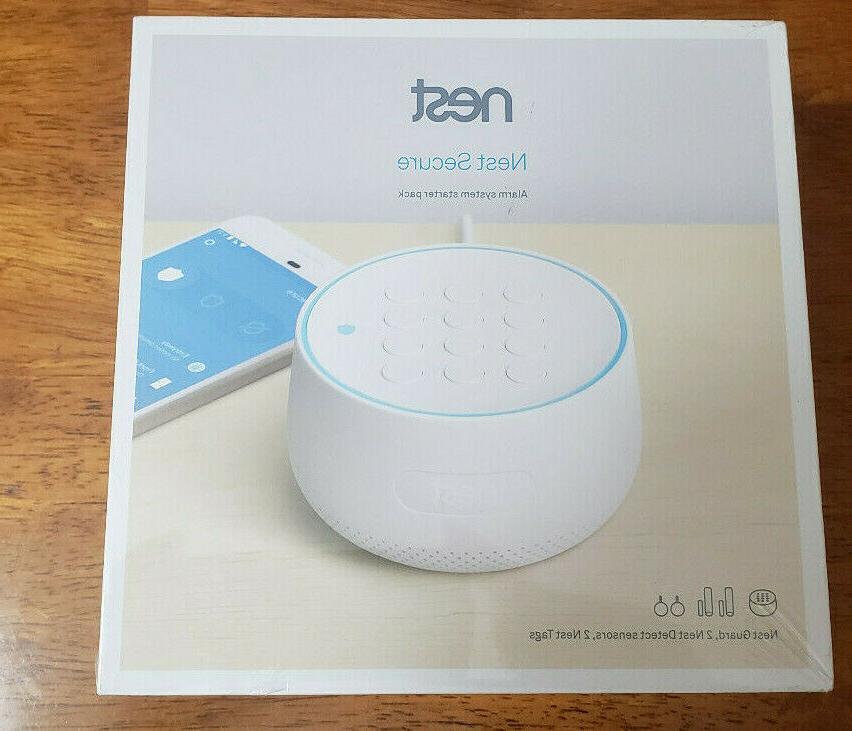 secure alarm system starter pack w 2