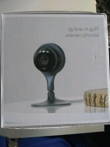 Nest + cam and security camera