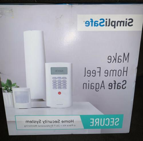 secure home security system kit