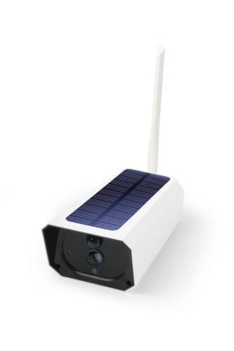 Security Camera Monitoring Solar WIFI Alarm System