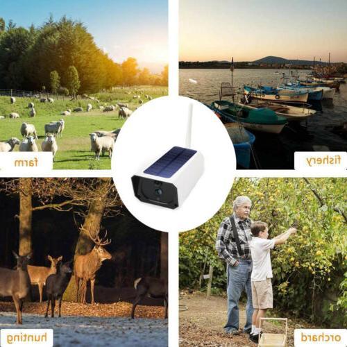 Security Camera Wireless Monitoring Solar Video1080P HD WIFI