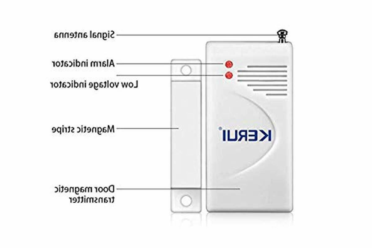 Security System Window Door Sensors Motion Sensor