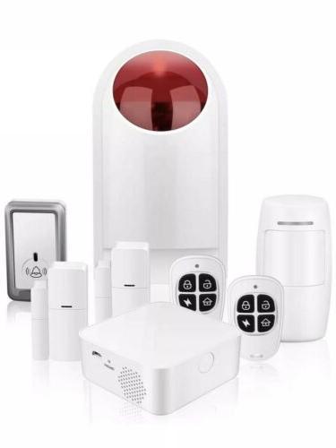 security wifi alarm system kit