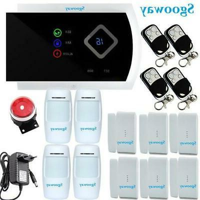 Sgooway GSM Systems Android IOS APP Alarms Home fre