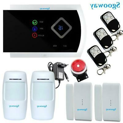 sgooway smarts gsm alarm systems android ios