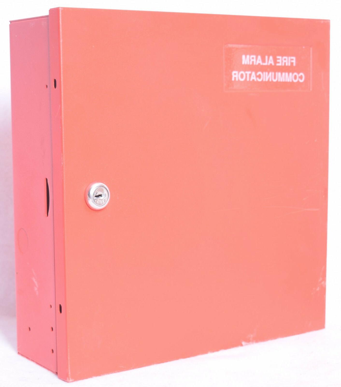 signal system equipment enclosure fire alarm communicator